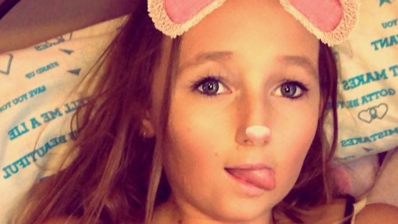 Kayla Kendrigan, 19, is recovering from the ordeal at home.