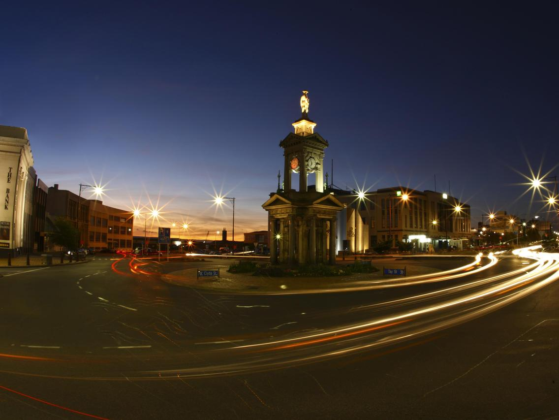 Invercargill has a thriving night-life. Picture: Venture Southland / Tourism New Zealand