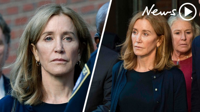 Felicity Huffman sentenced over college admissions scandal