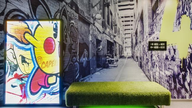 12/13 Ovolo Laneways This hotel chain has found a place in the hearts of Australia travellers by embracing the individuality of its locations and steering away from the generic. And so it is at this celebration of Melbourne's laneway culture. It sits on the corner of Little Bourke Street, carries a distinct rock and roll vibe and offers the chain's signature perks like a free cocktail in the evening, breakfast thrown in or a mini bar included in your rate.