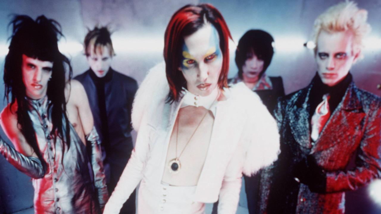 Wild rumours about Manson's spooky ways have been following the star for years. Picture: Supplied.