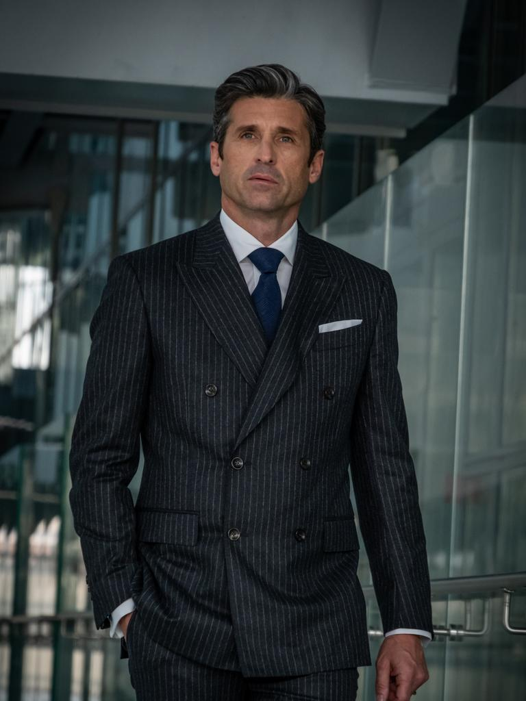 Patrick Dempsey in new BINGE drama, Devils. Picture: Supplied/NBCUniversal