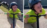Viral video shows boy screaming as magpie attacks