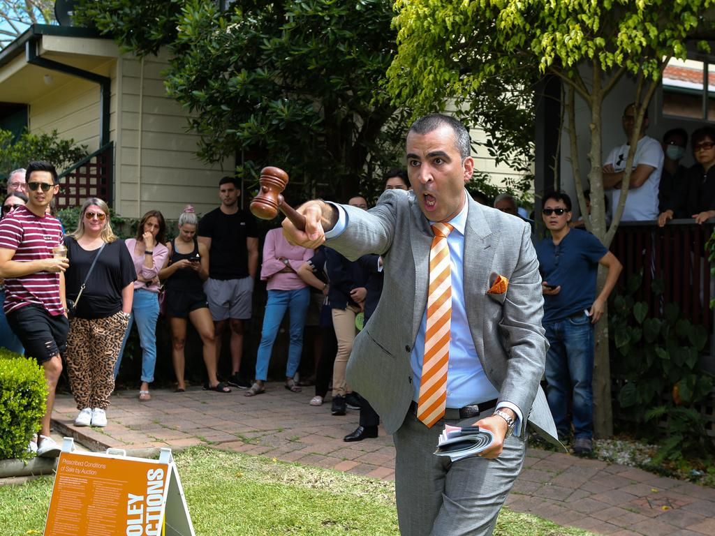 Competition is very high at auctions. Picture: News Corp: Daily Telegraph / Gaye Gerard