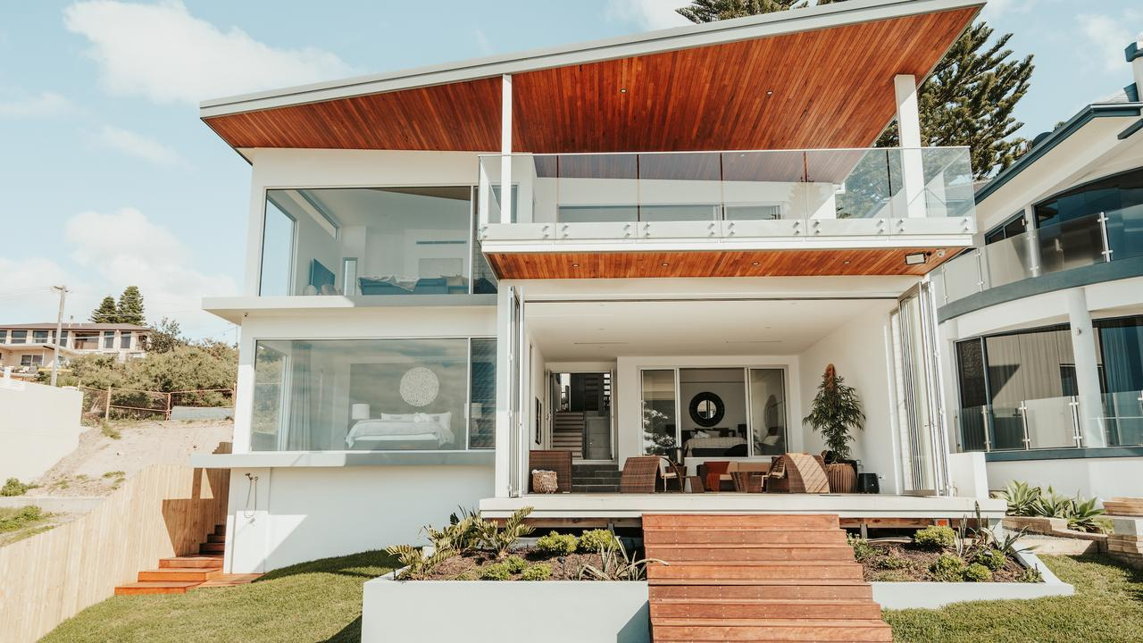 These are some of the most luxurious properties for a Central Coast escape. Picture: Belle Escapes Central Coast