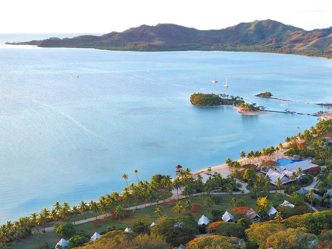 FIJI 6-DAY PACKAGE $1499 Escape to Musket Cove Island Resort & Marina in Fiji for six days and save more than $800 when you pay from $1499 a person. Stay in a Lagoon Bure and also receive return airport transfers and cat launch transfers, breakfast daily, $FJ400 (about $270) credit, scuba dives, two spa treatments, dolphin snorkelling safari and more. Offer for sale until December 20, 2019, for travel from January 9 to June 15, 2020. Ph 1800 800 722 (quote 211222), spacificatravel.com