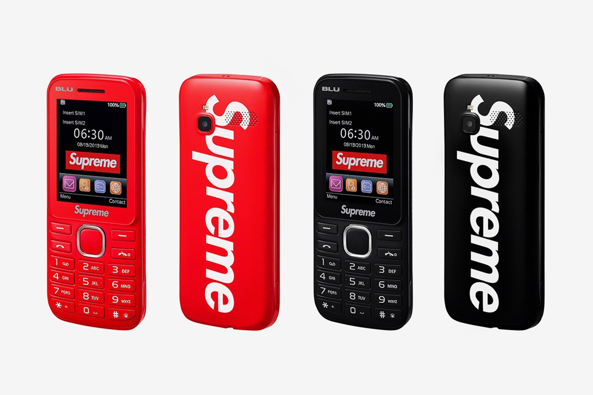 Supreme's Autumn/Winter Accessories Drop Features A Dirt Bike And An Actual Burner Phone