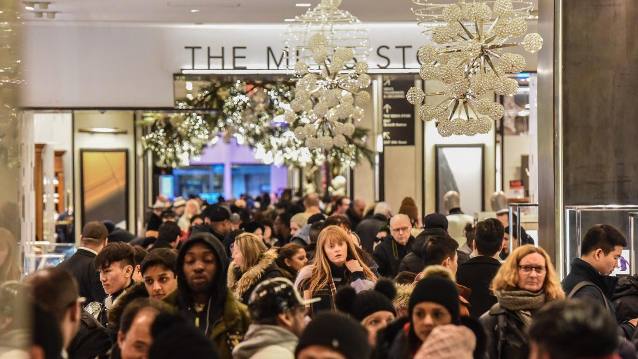 Black Friday originated in the US and marks the beginning of the holiday spending period. Image: Stephanie Keith / Getty Images / AFP.