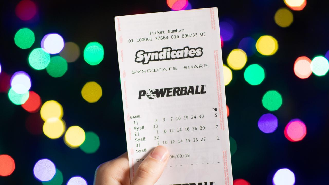 The last time the jackpot went off was earlier this month with a $60 million prize. Picture: Supplied/The Lott