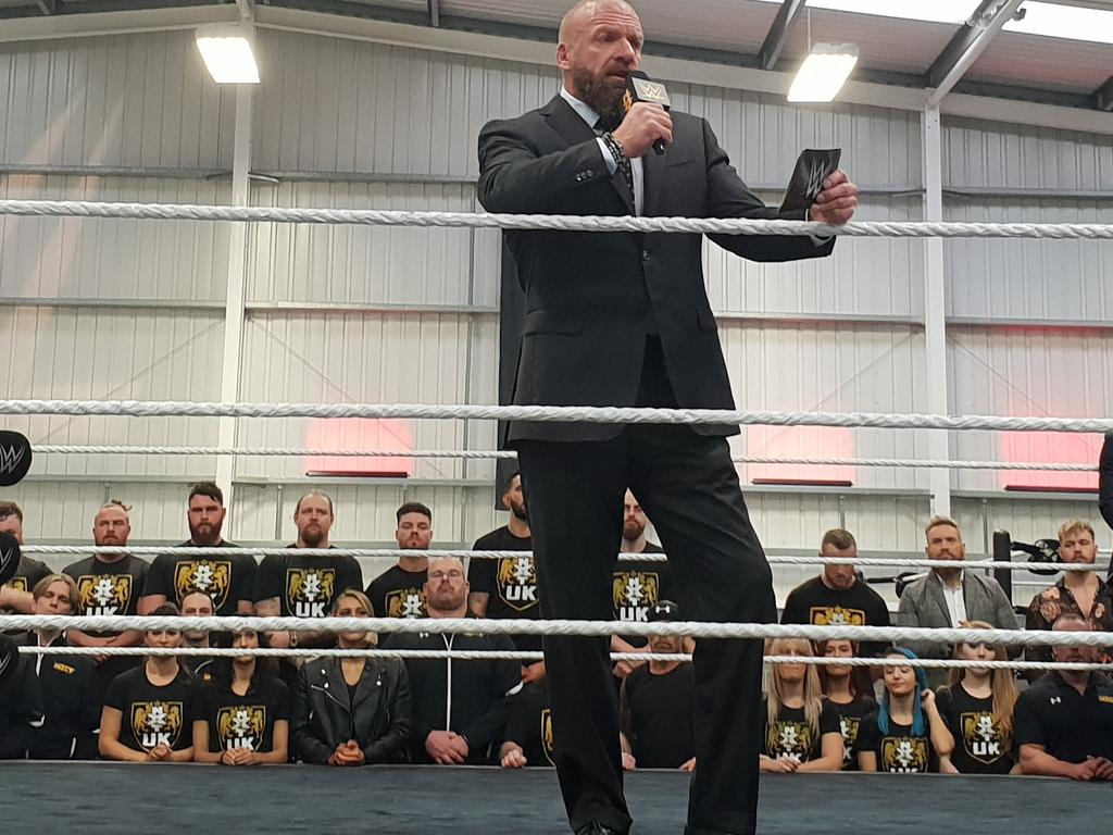 Triple H is leading the recruitment of the next generation of WWE performers.