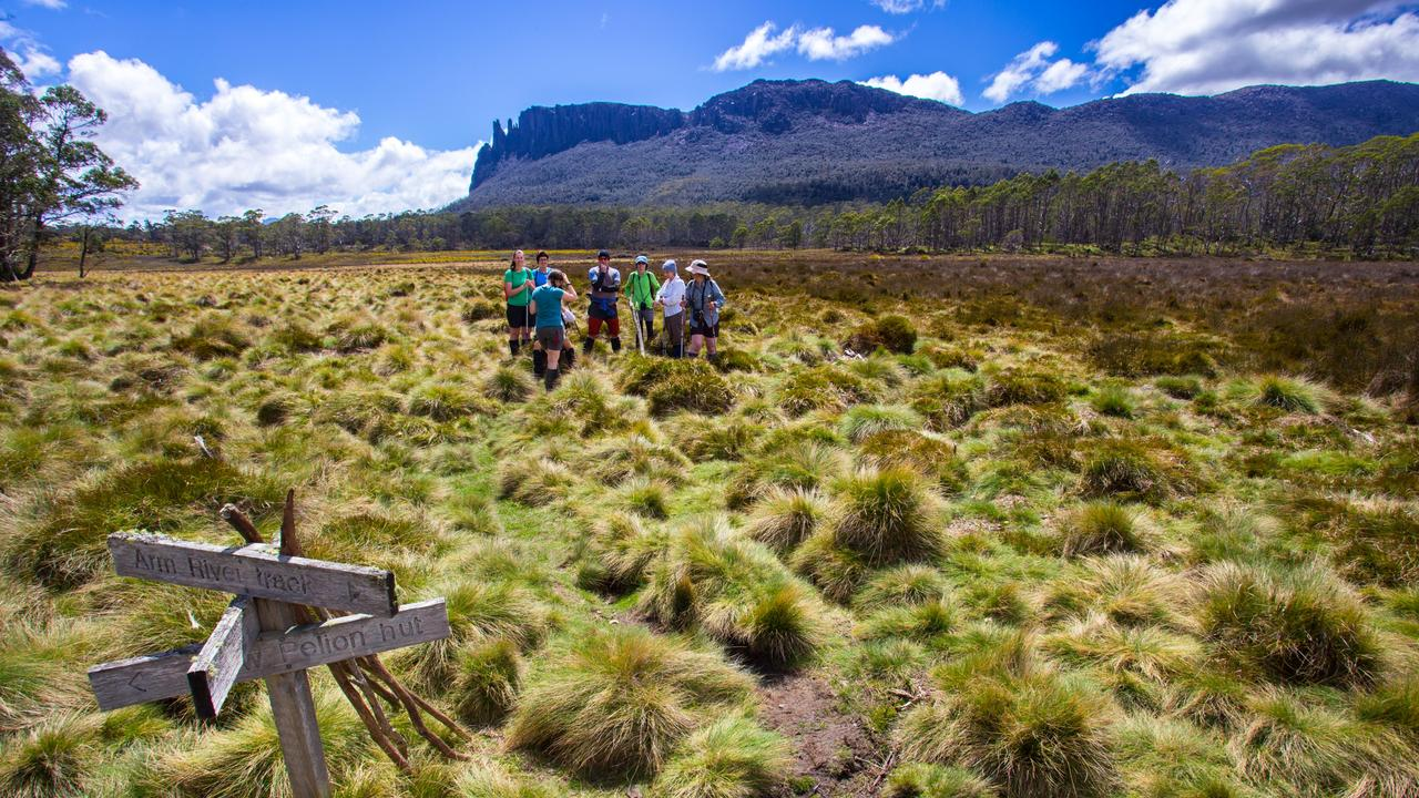 A guided tour is the most comfortable way to walk Tassie's Overland Track.