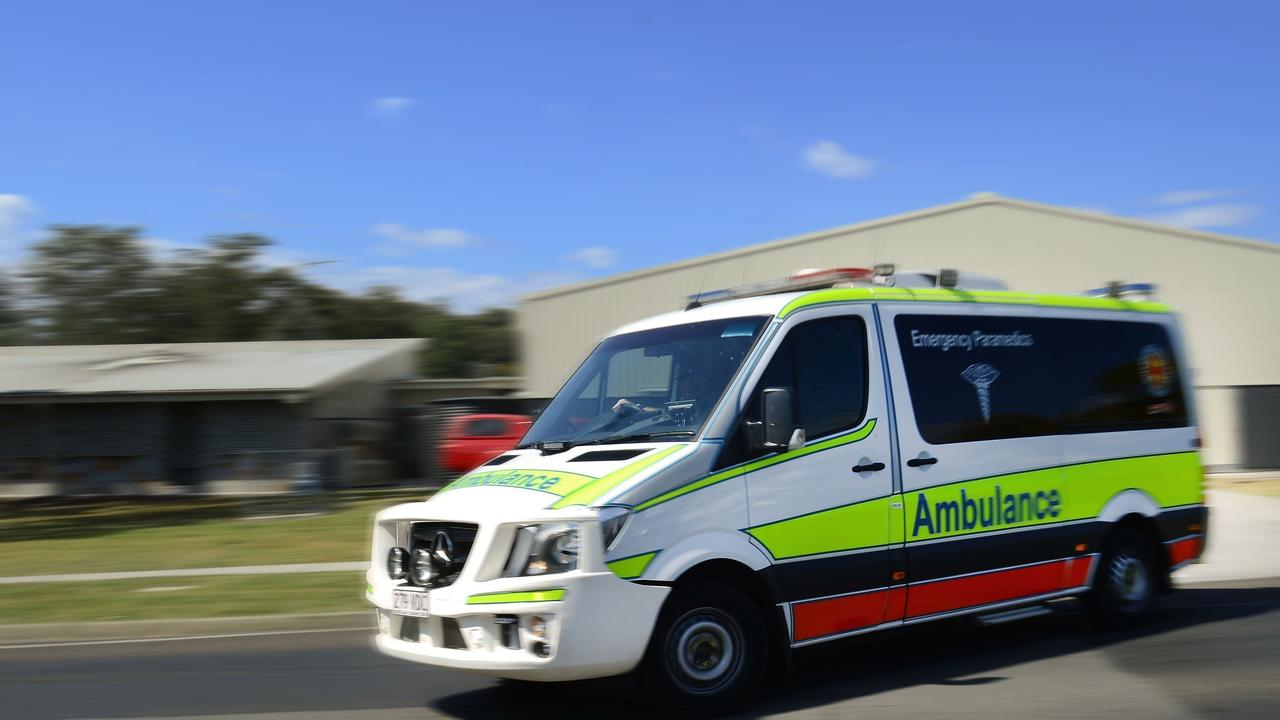 Paramedics are responding to a two-vehicle crash in the Baffle Creek locality.