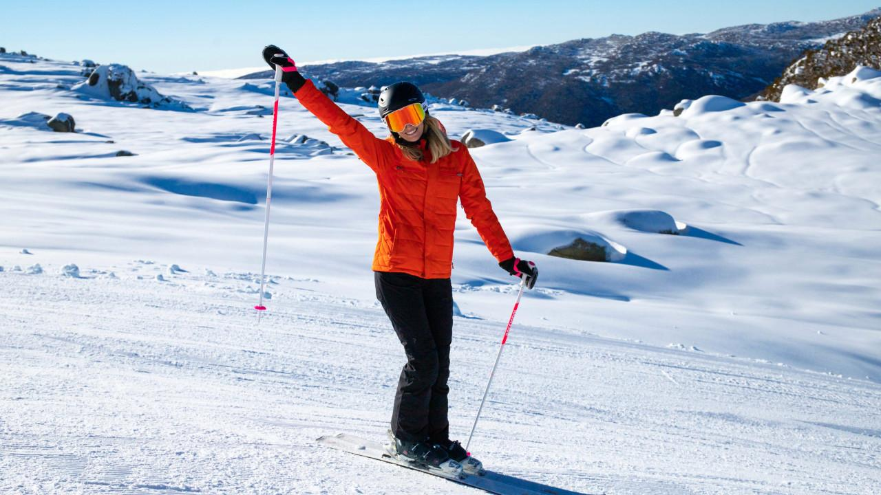 Skiing in Australia? You bet. Picture: Thredbo