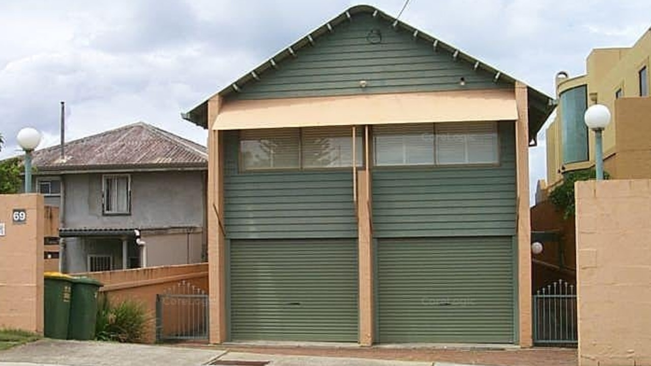 The front of the house at 69 Hedges Ave, Mermaid Beach.