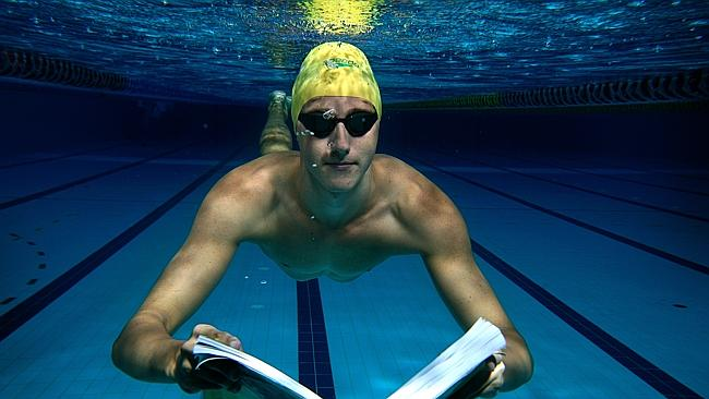 Gold Coast swimmer Cameron McEvoy juggles his swimming with studies at Griffith Universit