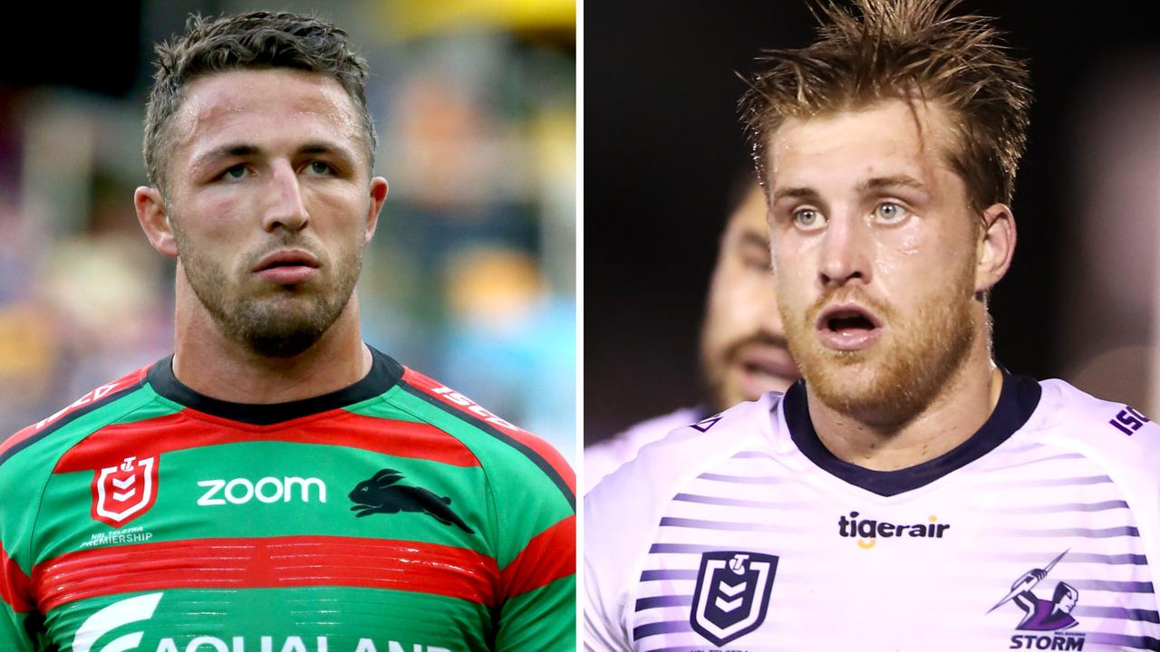 Sam Burgess and Cameron Munster will both sit out Round 18.