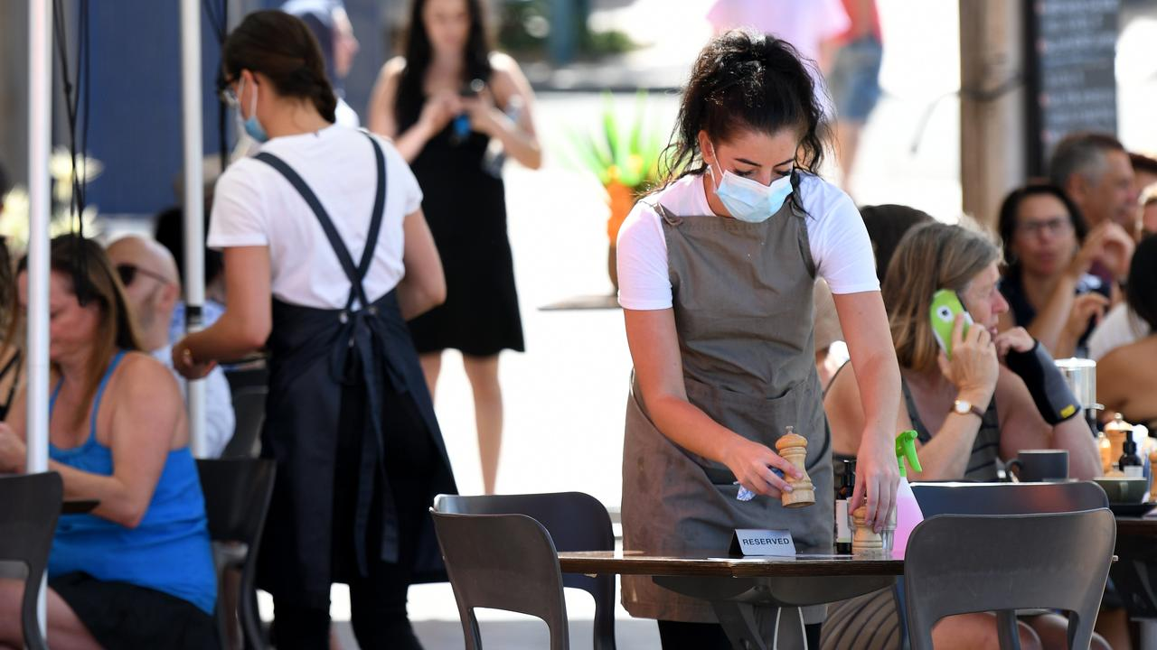 A new poll indicates strong support for the hospitality industry to mandate vaccines for workers. Picture: Bianca De Marchi/NCA NewsWire