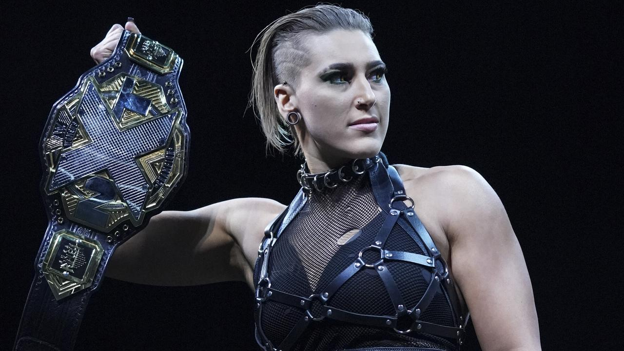 23-year-old Australian Rhea Ripley is the NXT Women's Champion, and a fast rising star in WWE.