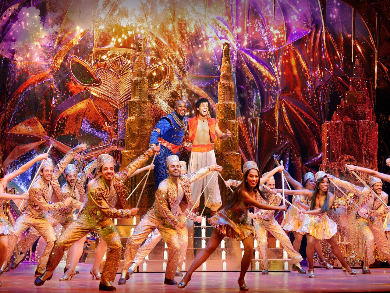 Disney's Aladdin is at the Capitol Theatre these school holidays. FOR SUNDAY TELEGRAPH SCHOOL HOLIDAY GUIDE 18/9/16 - MUST CREDIT