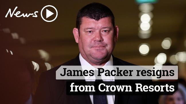 James Packer resigns from Crown Resorts