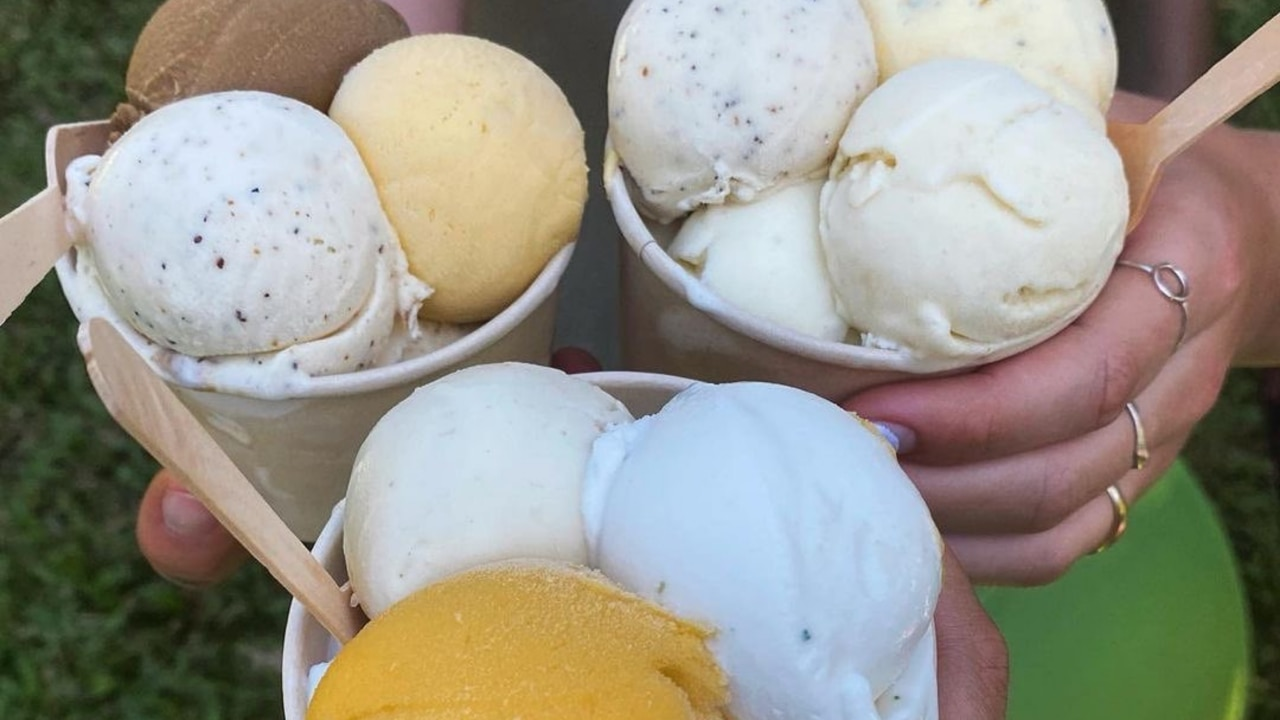 The Daintree Ice Cream Company; Home to Black Sapote, Coconut, Mango and Wattleseed flavours. Picture: Instagram