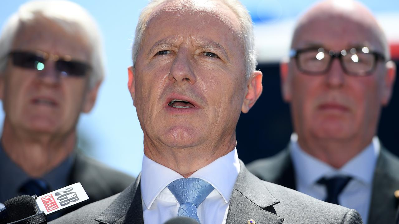 Former NSW Fire and Rescue commissioner Greg Mullins. Picture: AAP/Dan Himbrechts