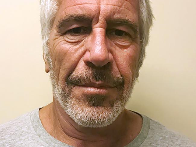 Jeffrey Epstein. Picture: New York State Sex Offender Registry