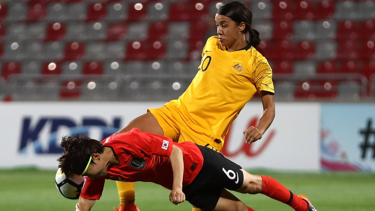 Sam Kerr and the Matildas will be hoping for better against Vietnam and Japan.