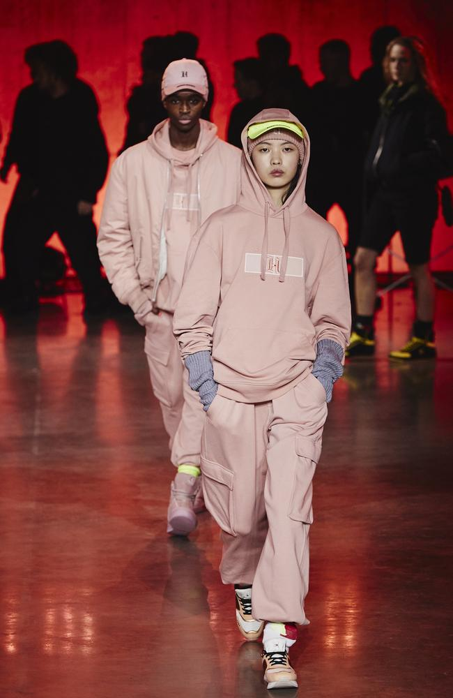 Millennial pink. Picture: Getty Images for Tommy Hilfiger