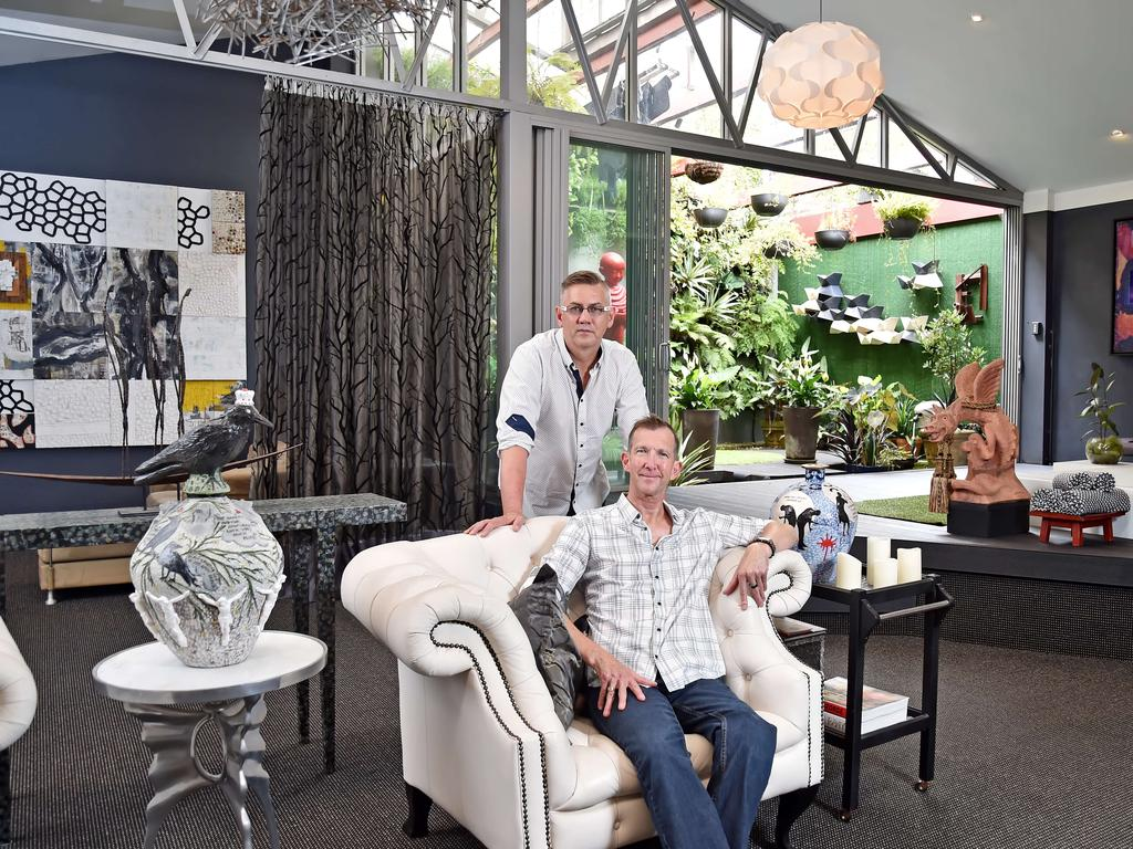 Grant Maxwell and partner Graham Sachse bought it in 2009. (AAP IMAGE / Troy Snook)