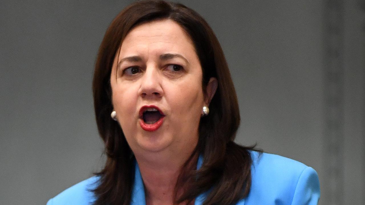 Queensland Premier Annastacia Palaszczuk has hit back at the PM. Photo: NCA NewsWire / Dan Peled