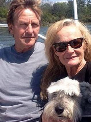 Robert Simpson with his wife, Susan. Picture: Facebook