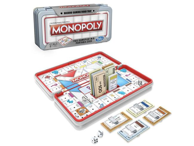 BOREDOM BUSTER: Monopoly Road Trip Series, $19.99 It's inevitable that at some point in a long journey you're going to need to call in the big guns (ie, the iPad) so reduce screen time with this reimagined classic. Granted, it doesn't have anything as iconic as the Big Banana, but Monopoly's road trip edition swaps streets for attractions such as breweries and amusement parks. Contained in a compact case, the game can be paused at each stop and picked back up when boredom descends again. Available at catch.com.au    See also:   The road trip guide every Aussie needs