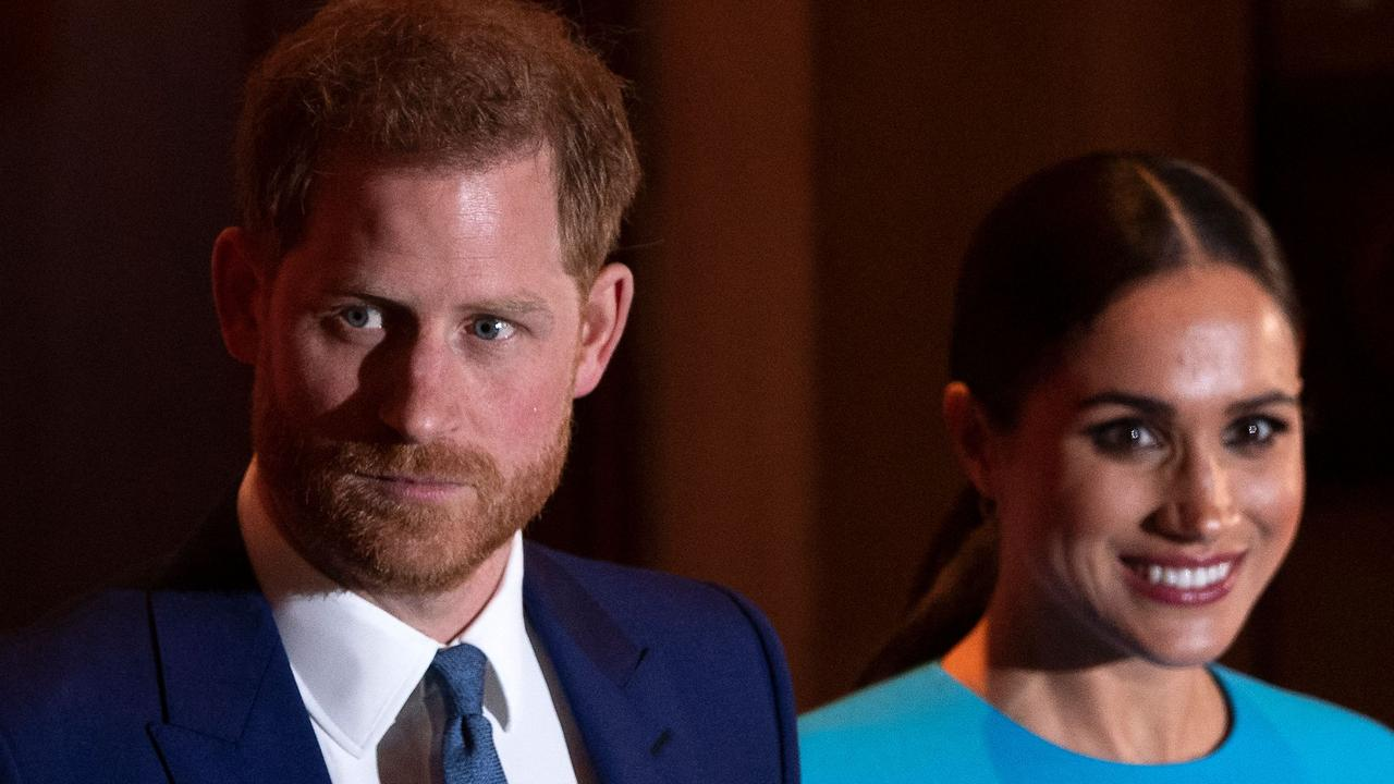 Prince Harry and Meghan Markle. Picture: Justin Tallis/AFP