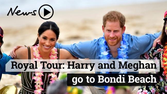 Royal Tour - Harry and Meghan go to Bondi Beach