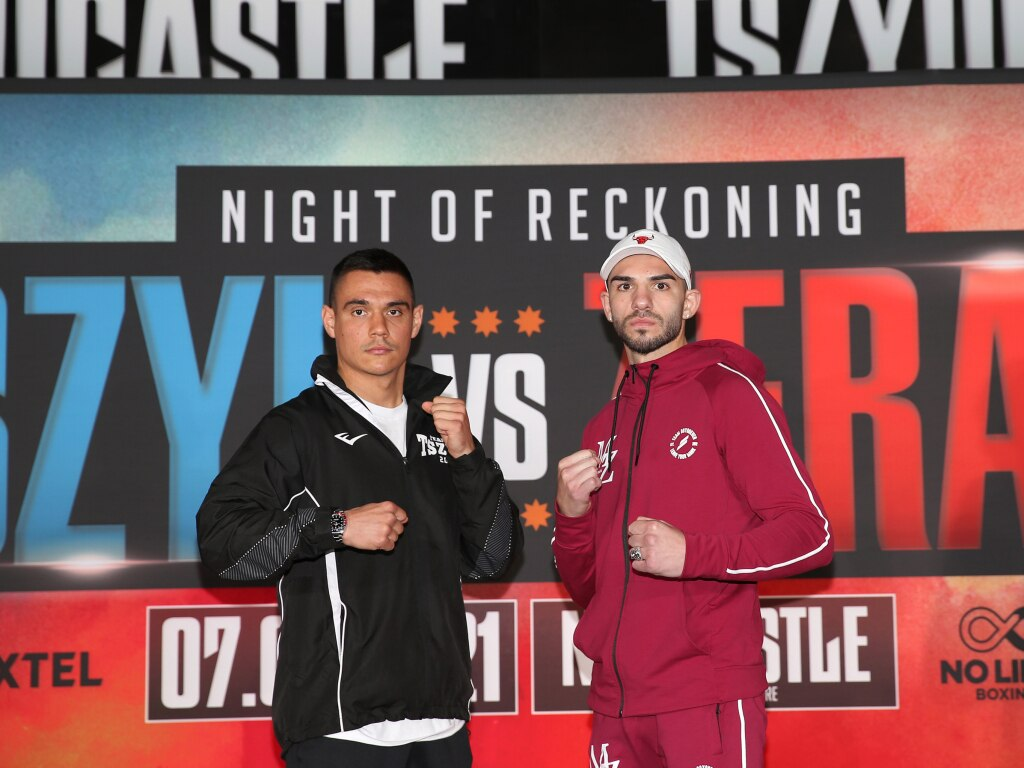 Michael Zerafa has withdrawn from his fight against Tim Tszyu next Wednesday. Photo by Peter Lorimer/Getty Images