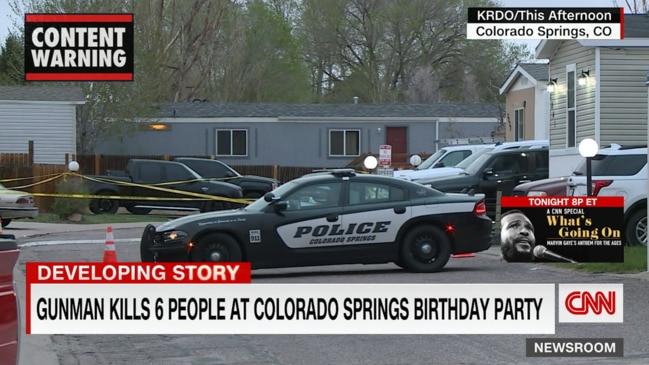 Colorado Springs birthday party shooting leaves seven dead, including gunman (CNN)