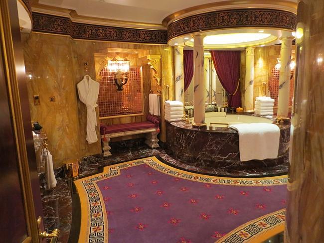 Inside the $24,000 a night Burj Royal Suite
