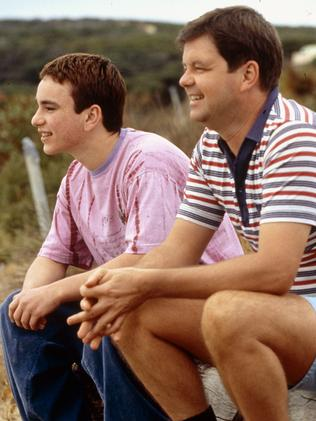 Father and son in SeaChange.