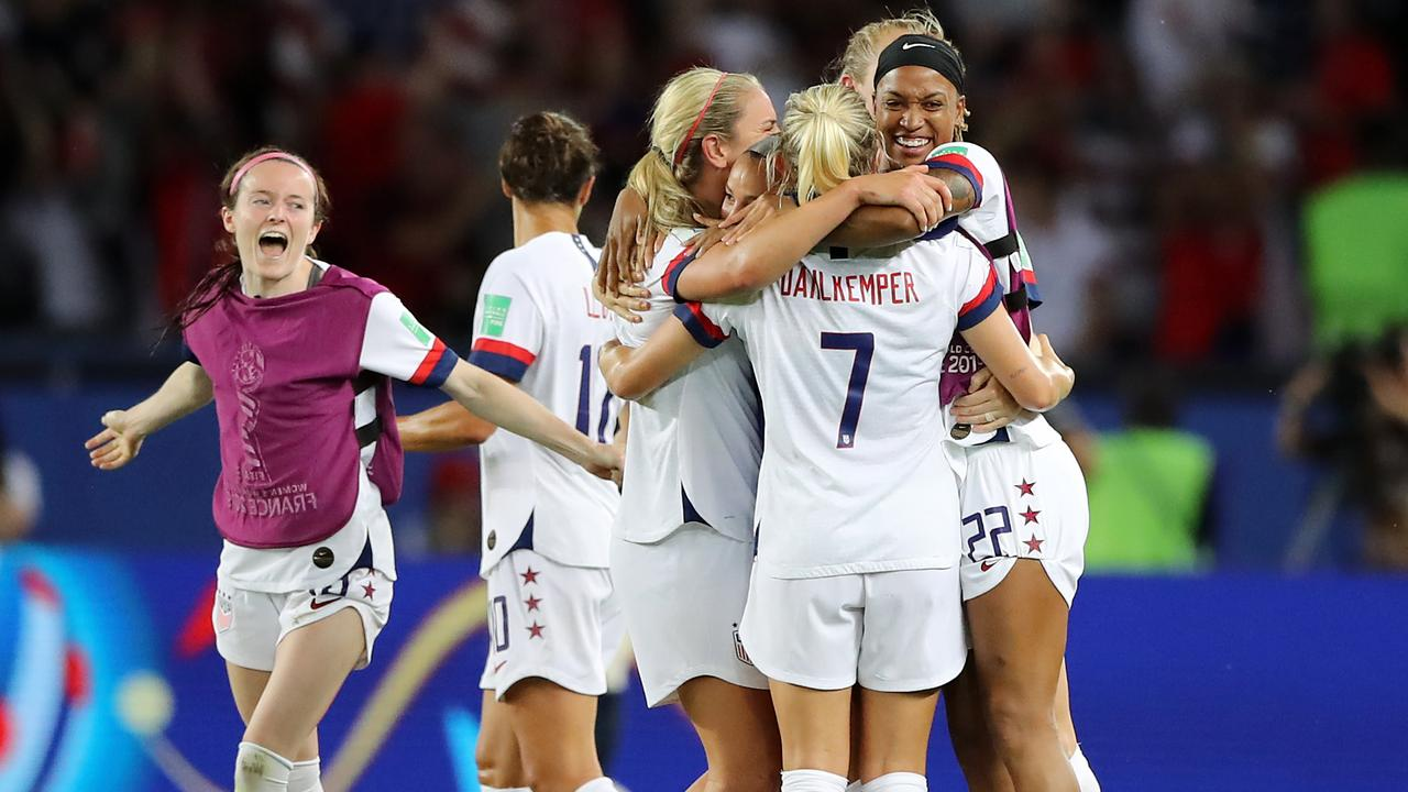 Women's World Cup 2019: Hosts bow out as USA clinches thriller