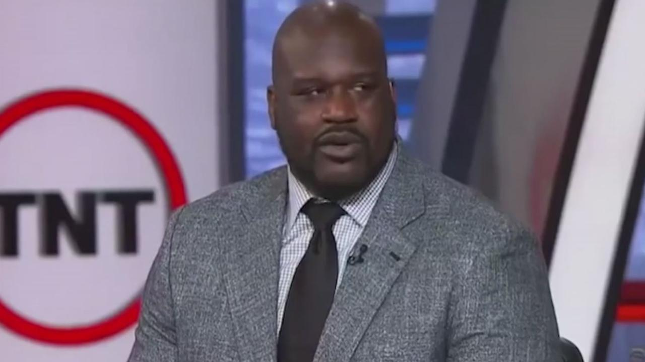 Shaquille O'Neal mixed up Julius Randle and Zach Randolph.
