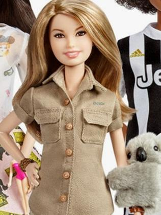 Bindi Irwin is one of several woman celebrated as a Barbie doll for International Women's Day in 2018