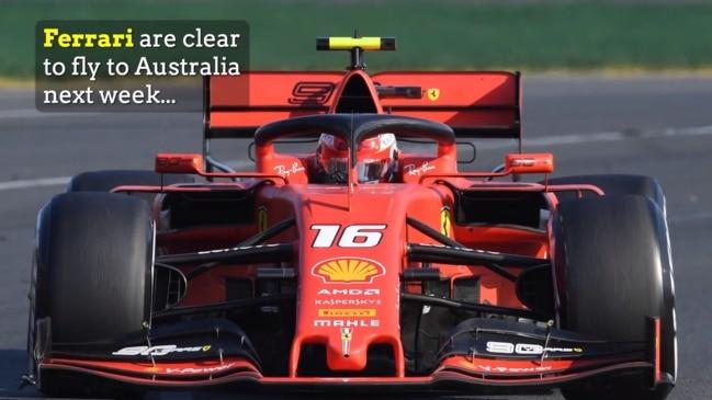 Fate of Melbourne GP rests with Ferrari