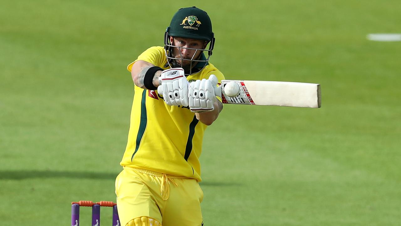 Matthew Wade smashed a century off just 45 balls against Derbyshire. Photo: David Rogers/Getty Images.