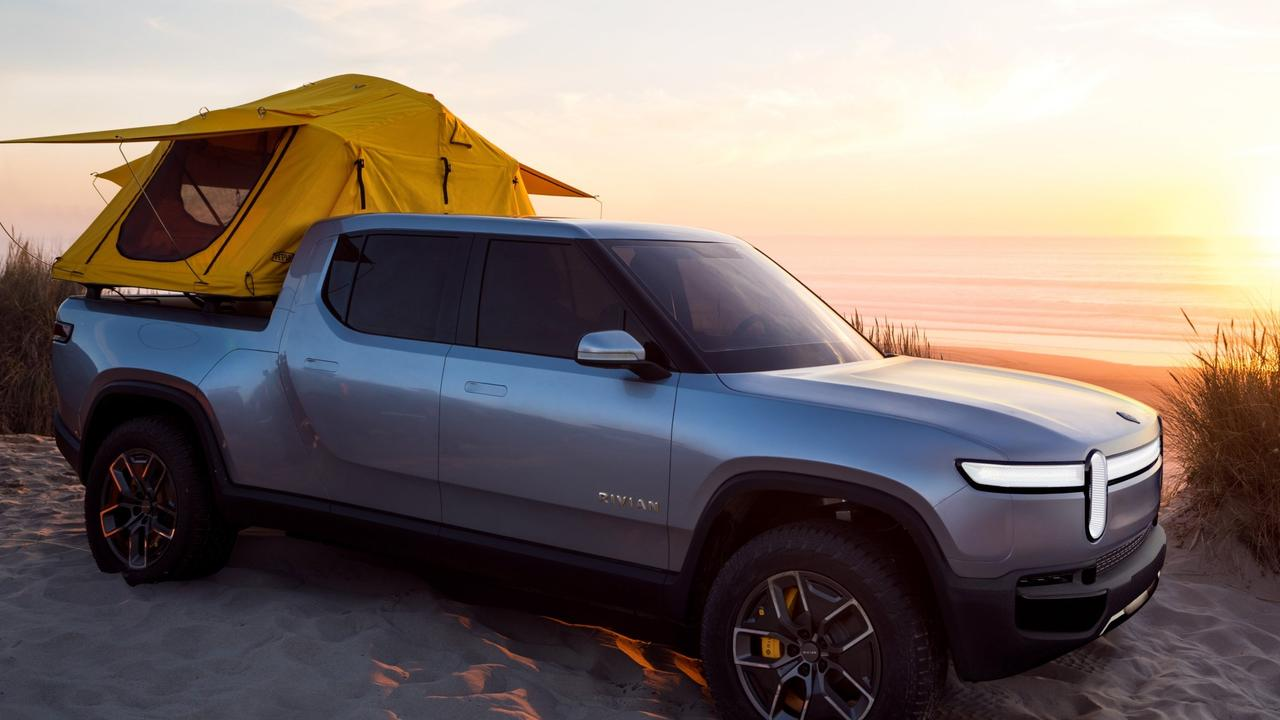 The ute can even come with an integrated tent in the tray.