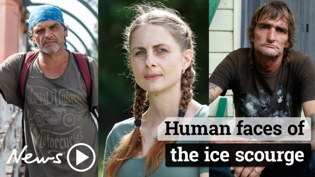 Human faces of the ice scourge