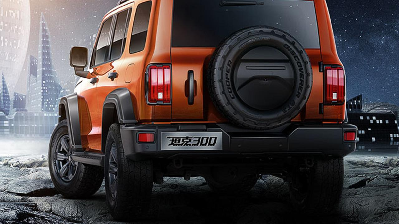 GWM's Tank 300 four-wheel-drive takes cues from the Ford Bronco and Jeep Wrangler.