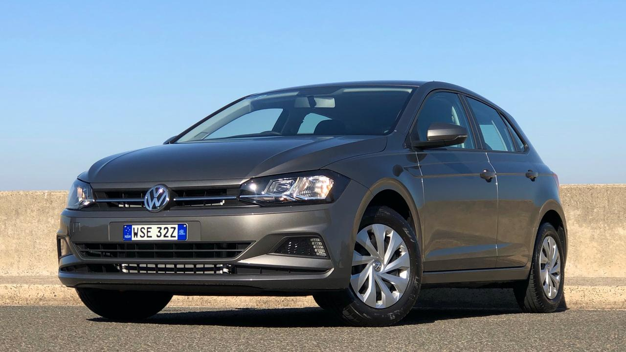Growing pains: The Polo is as big as the Golf was 10 years ago. Picture: Joshua Dowling.