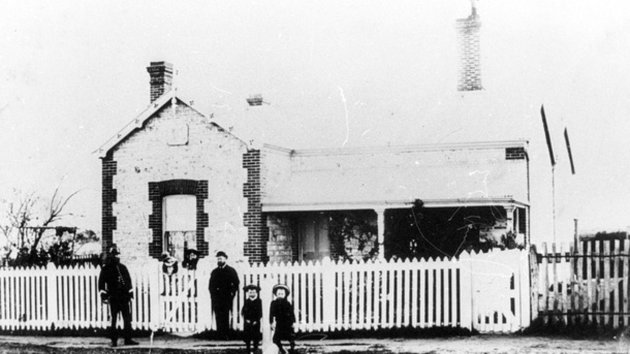 The Milang Police Station, taken around the 1880s. Pic: supplied.