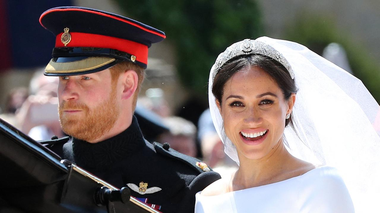 Meghan says the bridesmaid row with Kate was the beginning of the end of their relationship. Picture: AFP